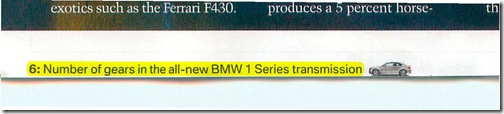 BMW 1-Series Page 6