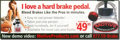 Hard Brake Pedal Ad