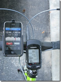 RunKeeper and Garmin 705