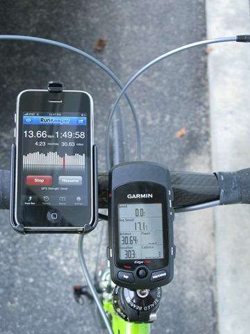 Photo of Using RunKeeper for Cycling