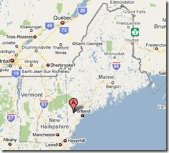 Limington Maine Map